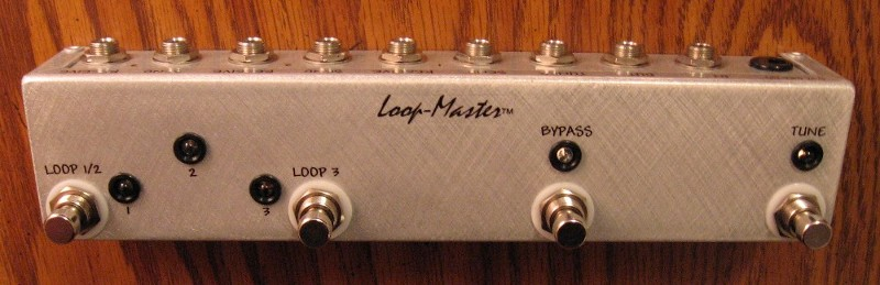 ABC Loop Switcher™ w/Master Bypass & Tuner Out